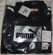 New 2013 Puma Long Sleeve 1/4 Zip Cresting Golf Shirts Black