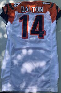 andy dalton game worn jersey