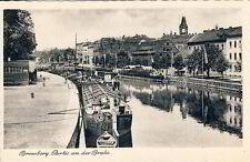 Postcard Bydgoszcz panelling at the Brahe UM 1937 BYDGOSZCZ