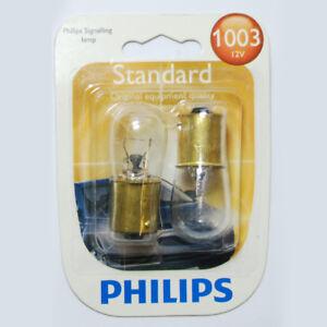 Philips 1003 - 12.03w 12.8v B6 BA15S base Automotive Bulb - 2 Pack