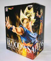 Dragon Ball Z Super Saiyan Son Gokou Figure BLOOD OF SAIYANS SPECIAL BANPRESTO