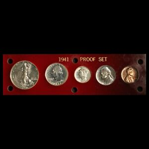 1941 Proof Set in Capital Plastic Holder - Free Shipping USA
