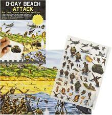 D-Day Beach ATTACCO RUB giù trasferimento seconda guerra mondiale Attività Pack