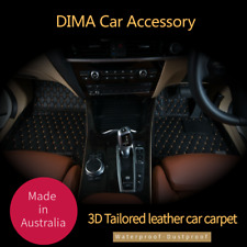 DIMA 3D Tailored Leather Car Floor Mats- BMW/Mercedes-Benz/ Audi