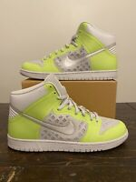 RARE Nike Dunk High Hyperfuse Premium 'Volt Grey' Sz 14 SB Mid Low OG Retro 1 11