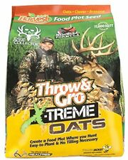 Evolved Harvest Throw and Gro Xtreme Oats Deer Food Plot Seed