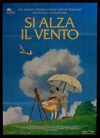 Poster Ja Fensterheber Die Wind Hayao Miyazaki Animation Studio Ghibli Toei M100