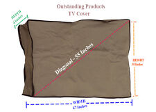 Economy Outdoor Protective Outdoor Tv Cover For Samsung J5000A Taupe