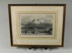 William Henry Bartlett - Older Graphic - Probably Stahlstich Um 1850 -
