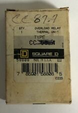 Square D Cc87.7 Overload Relay Thermal Unit