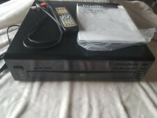 Denon DVM-1800 DVD Video Auto Changer with cables and remote Tested and Working