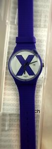 SWATCH  XX Rated Purple SUOV401 Mint in Box 2018
