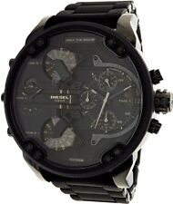 7aaf8587da70 DZ7396 Mr. Daddy 2.0 Black Stainless Steel 57mm Quartz Chronogrph Watch