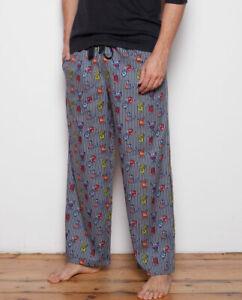 Max Monster Print Pyjama Pants