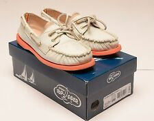 SPERRY TOP SIDER Women's Boat Shoes Moccasin A/O Minty Green/Striped  Size 6M