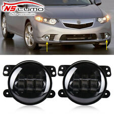 2X Led Fog Lights Lamp Replacement 4inch Halo For Acura Honda Ford Nissan Subaru