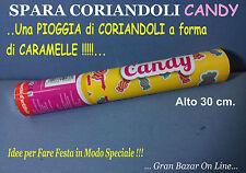 SPARACORIANDOLI CANDY Coriandoli a forma di Caramelle 30 cm. FESTA COMPLEANNO