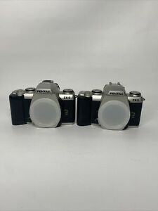 lot of 2: PENTAX ZX-5N 35MM FILM CAMERA Bodies only
