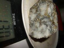 Gold, silver, copper, 130  grams, ore high grade .