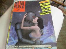 METAL HURLANT 61 bis.. special vers un futur heureux