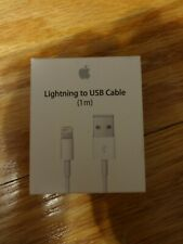 Brand New Apple Lightning to USB Cable (1m) & 30-pin to USB Cable !!!!!!!!!
