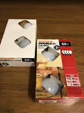 Sylvania Soft White 60 Watt 120v A19 770 Lumens Double Life Light Bulbs 4 pack