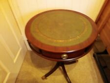 small round table used