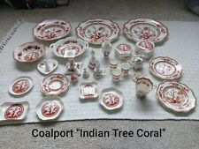 More details for coalport china indian tree coral