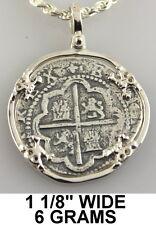 Atocha Pendant Skull Silver Mel Fisher 1985 Pirate Spanish Coin Shipwreck
