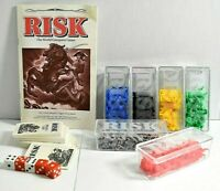 Risk 1993 World Conquest Game Parker Brothers Replacement Pieces & Inst. RL