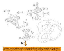 Ford Oem Engine Motor Transmission-Lower Transmission Mount Bolt W709112S442