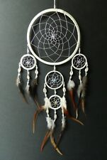 PRETTY NATURAL CREAM  DREAM CATCHER WITH SHELLS 16CM ACROSS NEW DREAMCATCHER