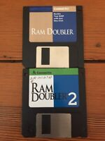 Vintage 1994 Ram Doubler + 2 Software Install Macintosh 3.5 Floppy Disks Mac