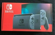 Nintendo Switch 32GB Gray Console with Gray Joy-Con New In Hand