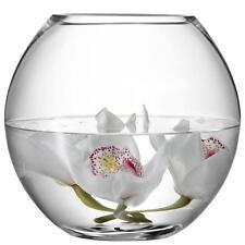 LSA International Flower Round Bouquet 22cm Vase - Clear