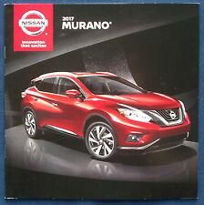 Prospekt brochure 2017 Nissan Murano (USA)