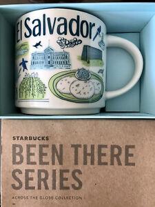 Starbucks Coffee Been There Series 14oz Mug EL SALVADOR Cup w/SKU