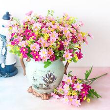 US Artificial Garden Daisy Outdoor Flower Fake False Plants Grass Home Decor