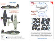 TopNotch Hellcat FAA camouflage scheme vinyl mask set
