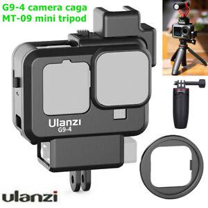 Ulanzi G9-4 Camera Cage For Gopro Hero 9 Dual Cold Shoe Camera Cover & Tripod