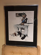 "NORMAN ROCKWELL ""SHERIFF & PRISONER"" SIGNED LITHOGRAPH  57/200"