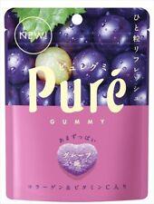 Pure Grape Sour Gummy Candy Japan 6 Pack Lot