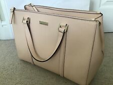 Kate Spade Handbag, Pale Pink Saffiano Leather, SUPERB CONDITION