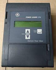 GE PLE3ESBG POWER LEADER EPM 3 ELEMENT Y  ELECTRONIC POWER METER