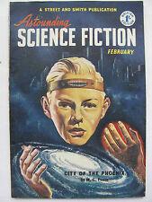 UK Pulp Mag - ASTOUNDING SCIENCE FICTION Feb, 1952
