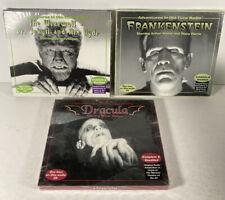3 CDs Old-Time Radio: Dr. Jekyll & Mr. Hyde Frankenstein Dracula -Unopened New