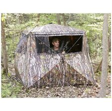 Camo Flare Out 5-Hub Ground Hunting Blind Deer Turkey Bow Crossbow