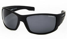 NEW Polasports Polarised Mens Sports Sunglasses - 4808B Skipper Matt Black