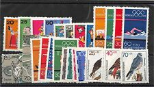 Lot of 132 Germany MNH Mint Never Hinged Semi - Postal Stamps #104280 X
