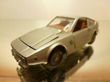 MEBETOYS A-46 ALFA ROMEO JUNIOR ZAGATO - SILVER 1:43 - GOOD CONDITION